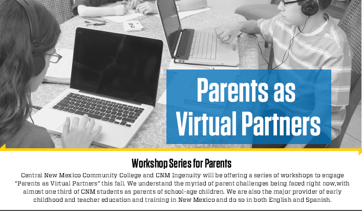 Parent Workshop for Virtual Learners