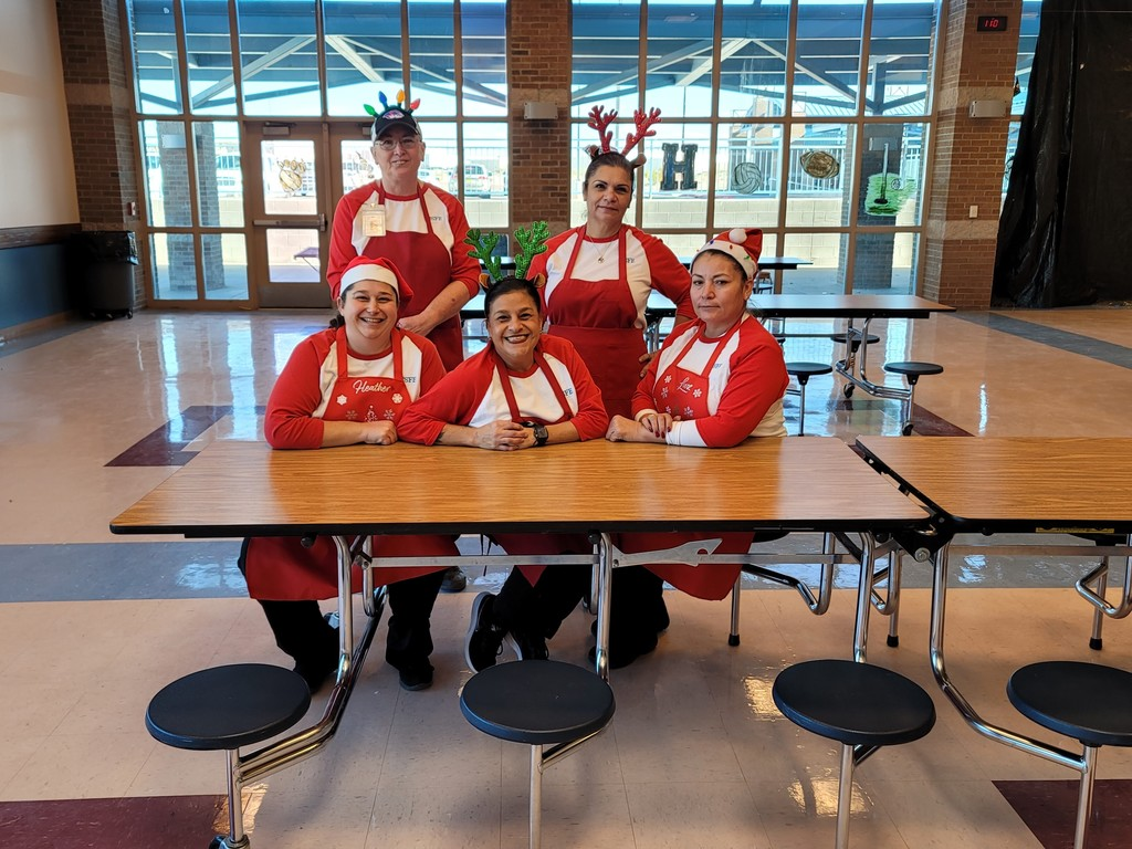 Season's Greetings from TCMSD Student Nutrition Staff!